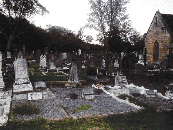 St. Mark's Anglican Cemetery, Picton