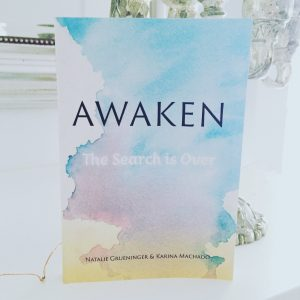 A proof copy of Awaken, hot off the presses!