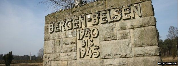 Tragic legacy: Bergen-Belsen in northern Germany.