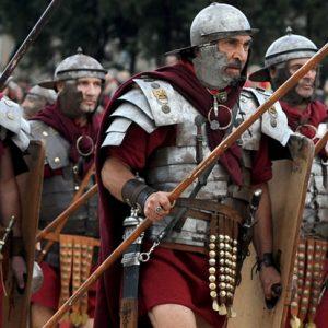 Roman Legionnaires. Image  bbc.com